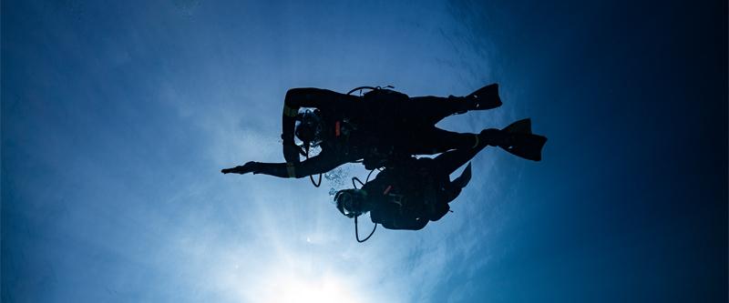 Unterwassernavigation